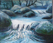 Winter Falls, Becka Brook